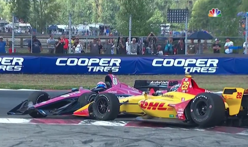 Radicalized By Larry Enticer, Ryan Hunter-Reay Decided To